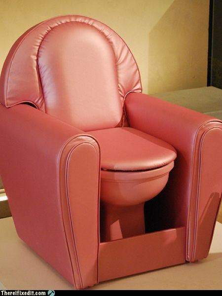 bathroom dual use furniture Hall of Fame not a kludge toilet - 5307244800