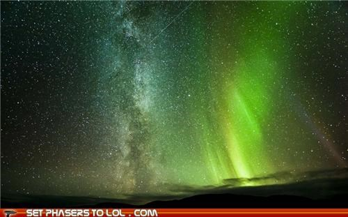 fact,meteor,milky way,northern lights,photographer,real,science,space