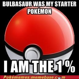 best of week,bulbasaur,first generation,i-am-the,Memes,occupy wallstreet,pokeball,starters