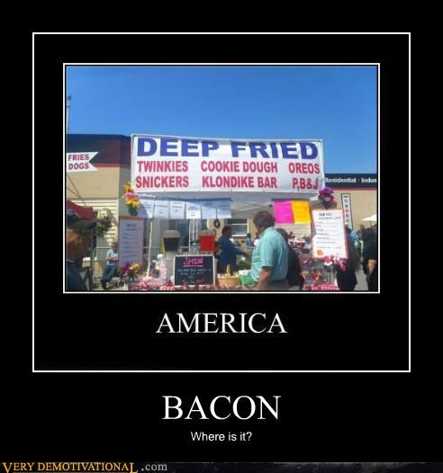 america,bacon,fried food,hilarious
