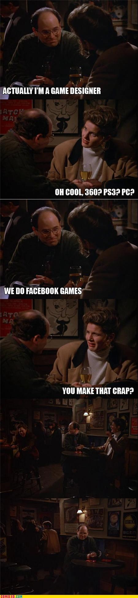 art vandelay,best of week,consoles,facebook,PC,seinfeld,TV,video games