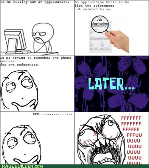 application,job,Rage Comics,references