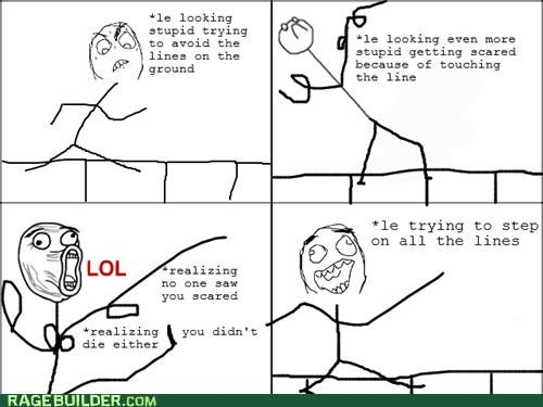 avoid crack lines Rage Comics step - 5307868160