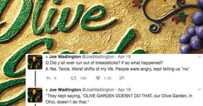 twitter date manager Times Square restaurant olive garden funny - 5307909
