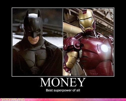 batman,christian bale,demotivational,funny,iron man,robert downey jr,superhero