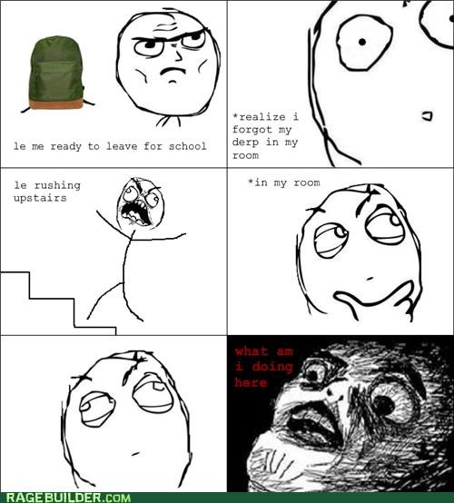 confused forgot late Rage Comics - 5307941888