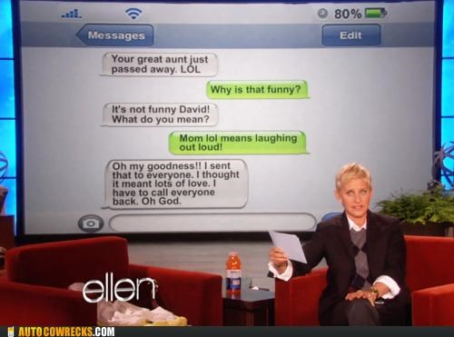 acronym ellen parents tv show