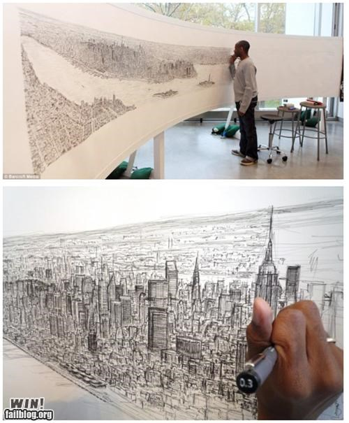 art Brother Nature FTW city cityscape new york panorama urban - 5308196864