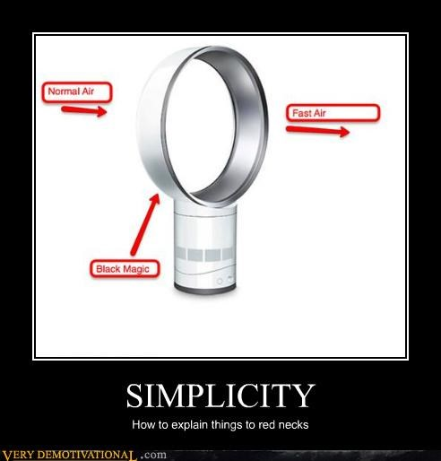 SIMPLICITY How to explain things to red necks