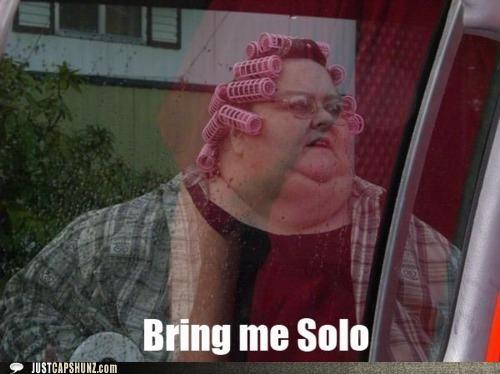 Han Solo random person random woman star wars - 5308300800
