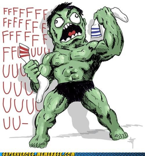 Awesome Art fuuu hulk rage - 5308307200