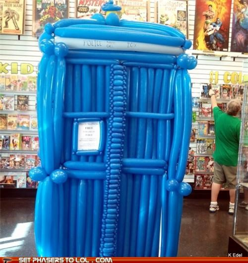 baloon bigger doctor doctor who inflation tardis - 5308372992