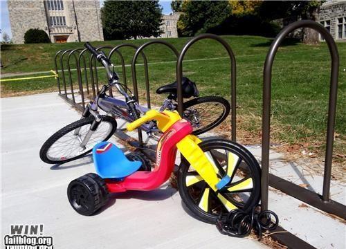 anti-theft big wheel bike lock stand theft toy - 5308632064