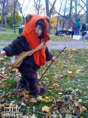costume,ewok,Hall of Fame,halloween,kid,nerdgasm,star wars