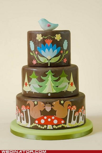 cakes folksy funny wedding photos Hall of Fame hipster wedding cakes - 5308898560