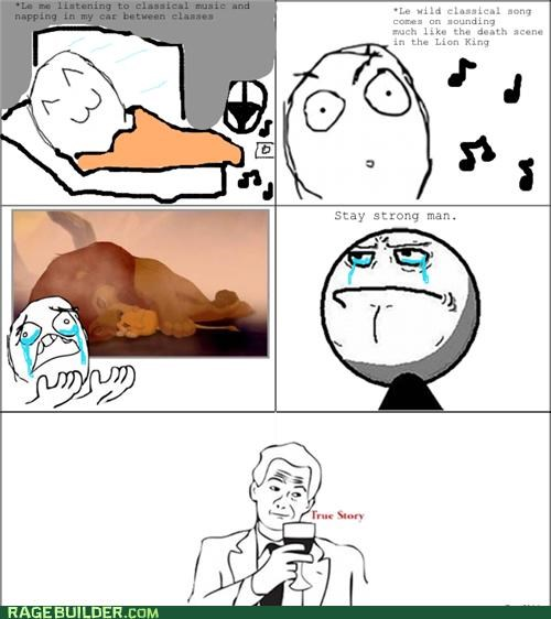 lion king Rage Comics Sad stay strong - 5309178112