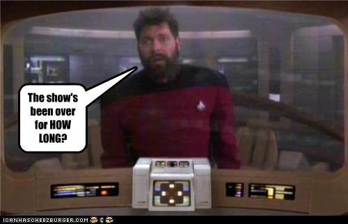 Jonathan Frakes over Riker show Star Trek TNG - 5309229824