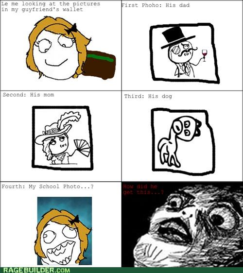Awkward,friends,photos,Rage Comics