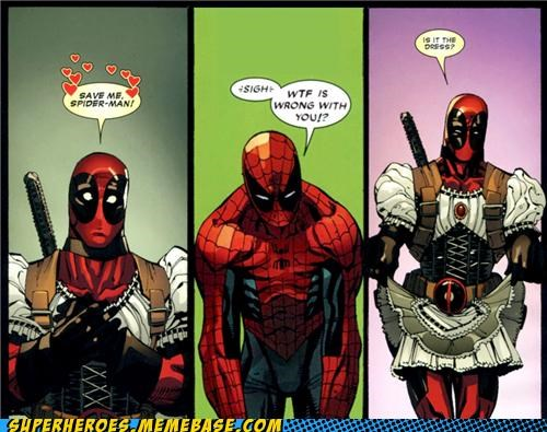deadpool dress Spider-Man Straight off the Page wtf - 5309913344