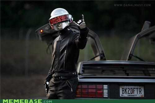 awesome daft punk DeLorean wtf - 5310158848
