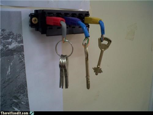clever,dual use,keys,neat,technology