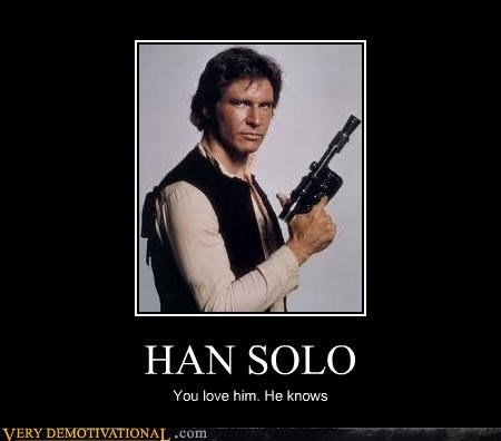 Han Solo knows love Pure Awesome star wars - 5311211776