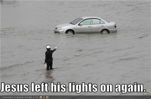 cars,flood,jesus,political pictures
