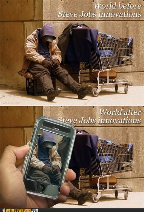 apple,camera,cameraphone,Hall of Fame,homeless,mac,steve jobs