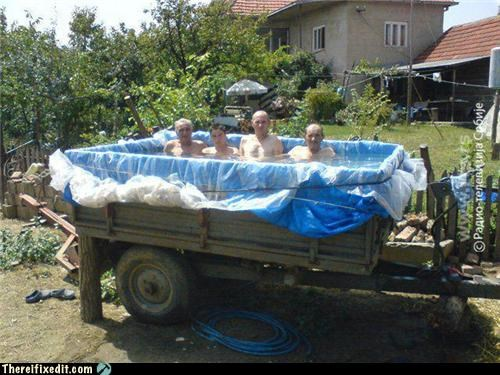 Redneck Pools Never Go Out of Style