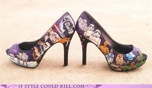 best of the week crazy shoes geek chic star wars - 5311463936