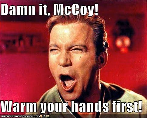 Captain Kirk McCoy Shatnerday Star Trek William Shatner - 5311474944