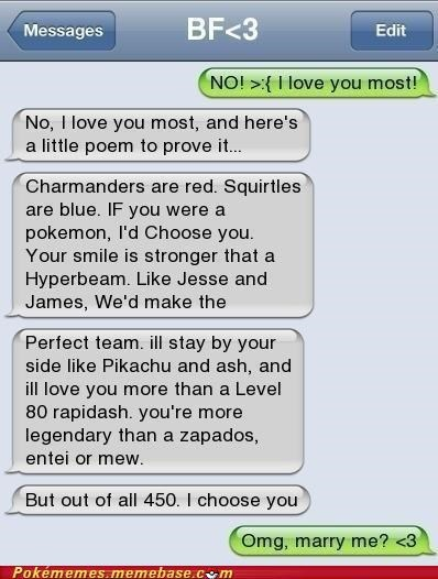 creative IRL marry me poem pokememers text - 5311670528
