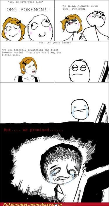 but we promised love you never forget Rage Comics - 5311718400