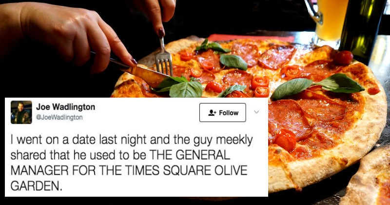 manager talks about times square olive garden