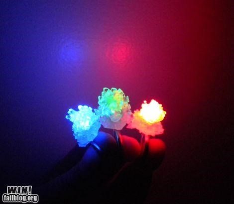 accessory,LED,pretty colors,ring,rock candy