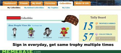 cheezburger,collectibles,Memes,sign in,trophy