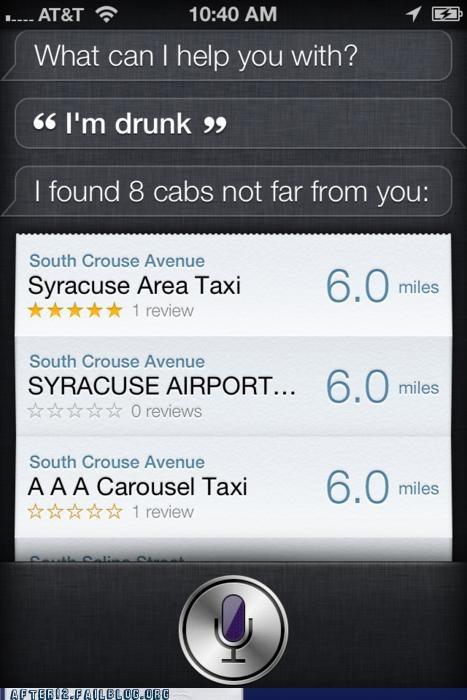 apple drunk iphone robot siri taxi - 5312197888