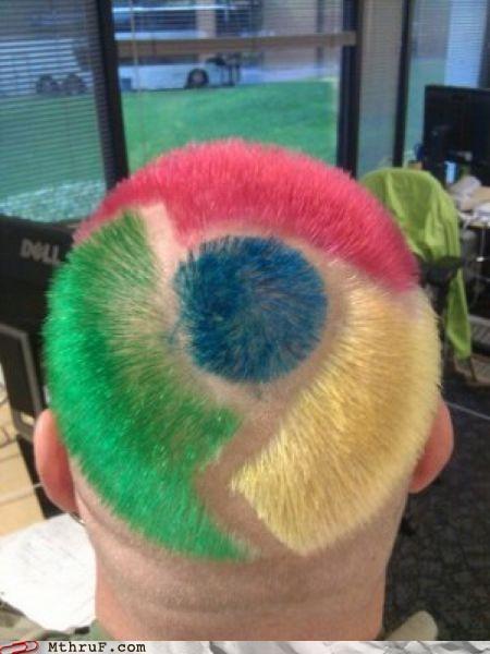 browser chrome hair haircut internet web browser - 5312272128