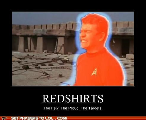 dying,redshirts,Star Trek,targets