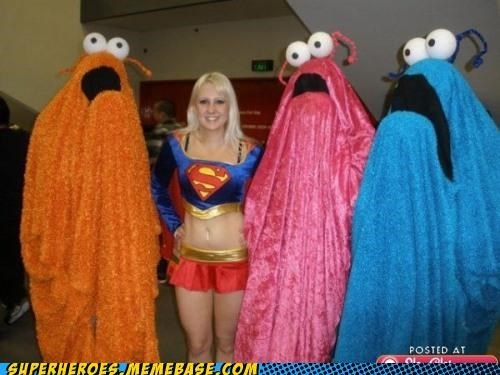 Aliens muppets Super Costume super girl - 5312566272