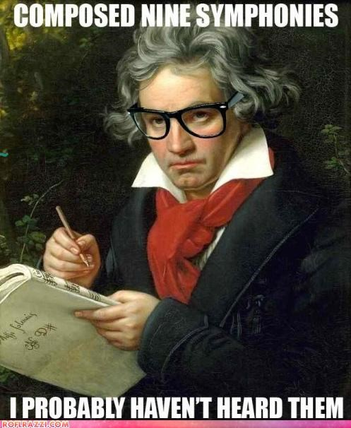 art Beethoven color funny hipster historic lols meme portrait - 5312722944