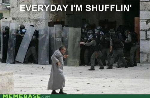 everyday,guns,Memes,police,Protest,shufflin,what