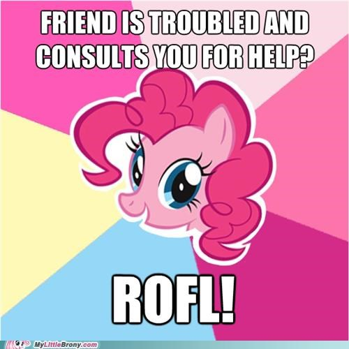 consult crazy giggle meme pinkie pie rofl twilight sparkle - 5314977280