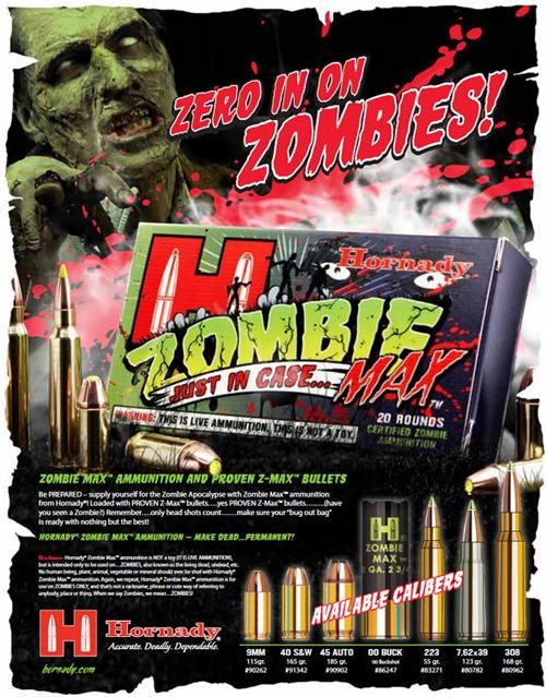 ammo,ammunition,Hornady,merch,Video,zombie