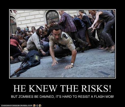 Rick Grimes The Walking Dead zombie - 5315302144