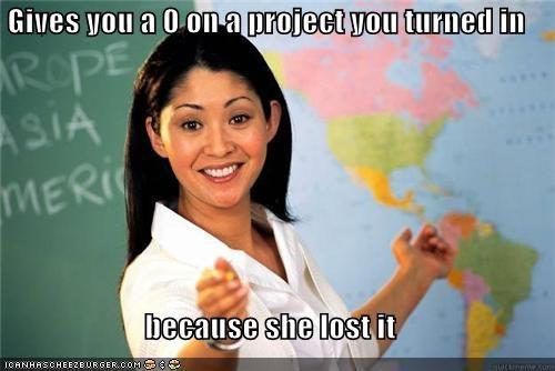 homework kids lost project school Terrible Teacher - 5315892992