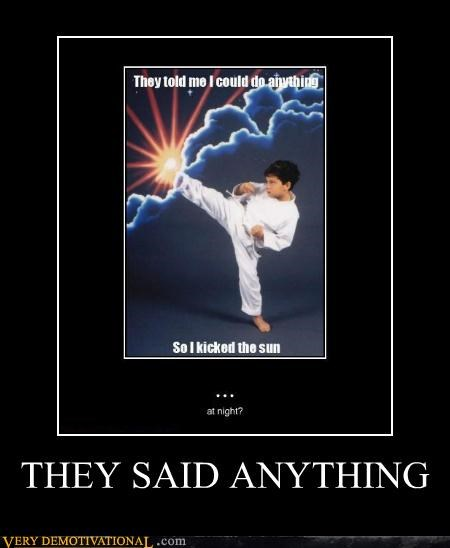 hilarious karate kids sun