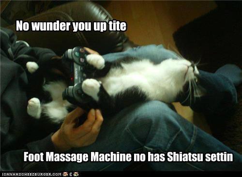 No wunder you up tite Foot Massage Machine no has Shiatsu settin