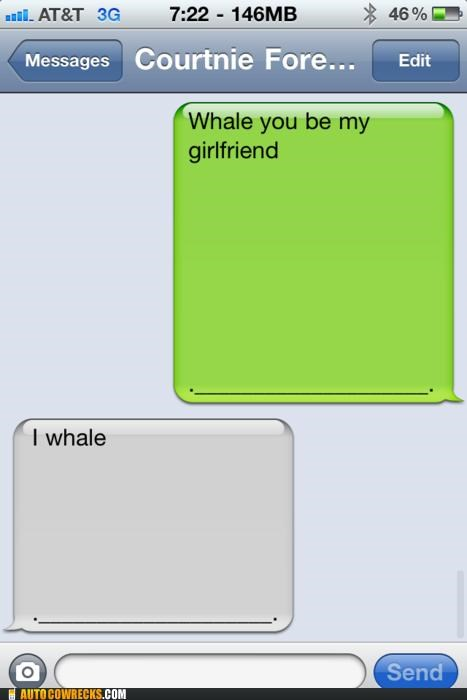 dating girlfriend Hall of Fame proposal pun relationships whale - 5318247680