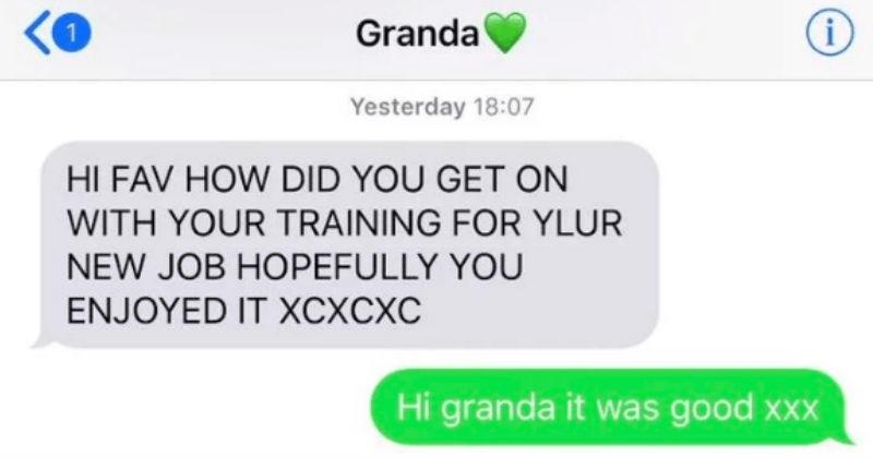 funny texts from grandma